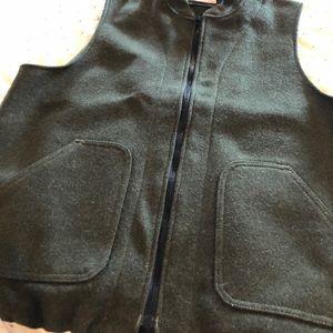 Filson man's wool vest